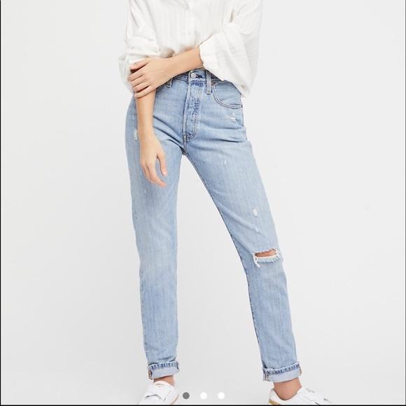 7776748c Levi's Jeans | Last 2 Levis 501 Skinny Light Blue | Poshmark